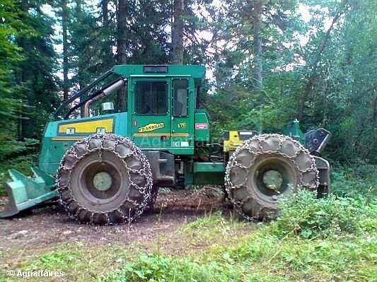 tracteur forestier debusqueur timberjack